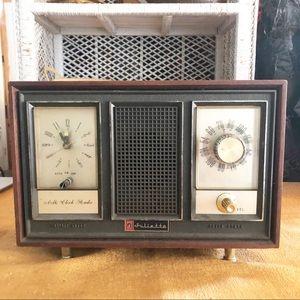 Vintage Juliette Alarm Clock Radio Mid Century